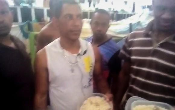 Colombianos presos en la comisaría de La Yaguara en Venezuela. FOTO: EL COLOMBIANO