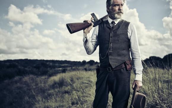 Pierce Brosnan es el protagonista de esta serie. FOTO Cortesía AMC