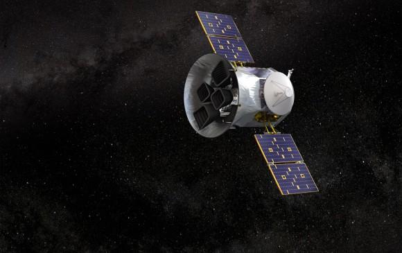 Así se ve el Satélite de Sondeo de Exoplanetas en Tránsito, Tess. FOTOIlustración NASA