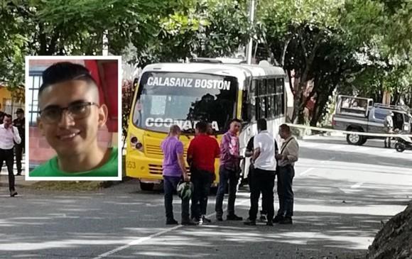 Asesinan al conductor de un bus en Calasanz