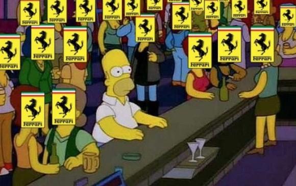 """""""Cuando entras a Twitter y todos están hablando del Ferrari""""."""