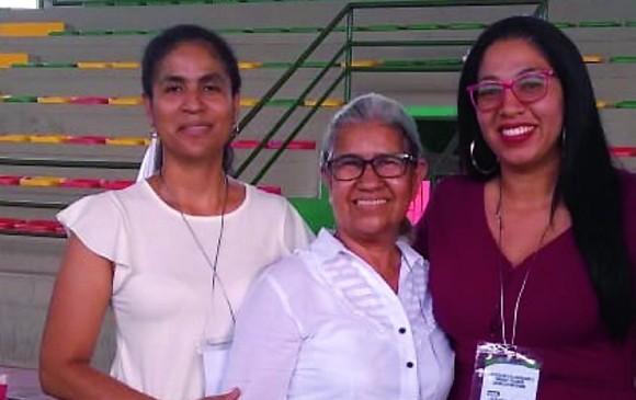 """Myladis Morato, Damaris Rodríguez y Johana García; algunas de las candidatas a la alcaldía de Yondó.<span style=""""text-transform:uppercase""""> </span><span style=""""text-transform:uppercase"""">FOTO</span> <b><span style=""""text-transform:uppercase"""">cortesía</span></b>"""