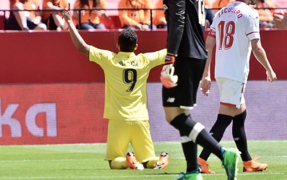 Pese a marcar, el jugador colombiano pidió disculpas a la afición de su exequipo. FOTO EFE