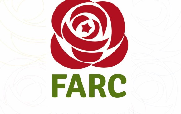 La rosa roja hace alusión al símbolo internacional de los partidos socialistas, según defendió Iván Márquez pero a la vez denunció el abogado Ibañez. FOTO COLPRENSA