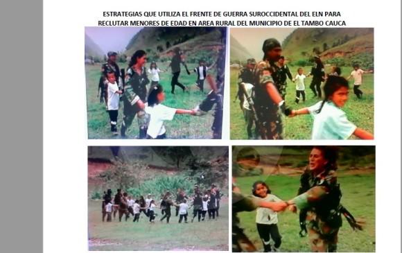 En esta imagen se muestra el título del documento entregado por Inteligencia Militar a EL COLOMBIANO en el 2015. FOTO: EL COLOMBIANO