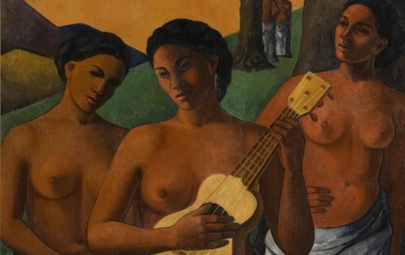 Mujeres, 1943. Cordelia Ureta. Colección Femsa.