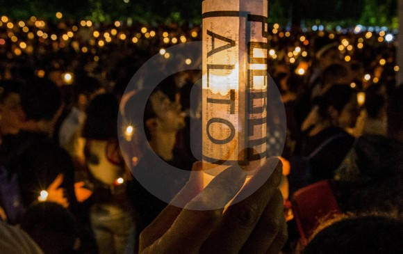 La manifestación de repudio de la sociedad civil ha sido fundamental para darle relevancia a los asesinatos contra líderes sociales y defensores de derechos humanos. FOTO Julio César Herrera
