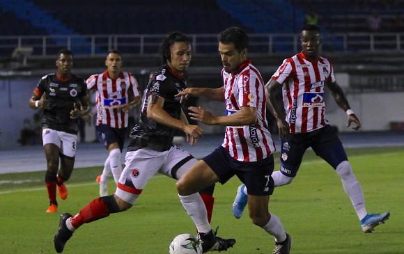 Villanuevero anota en la goleada del Tolima al Junior en Barranquilla