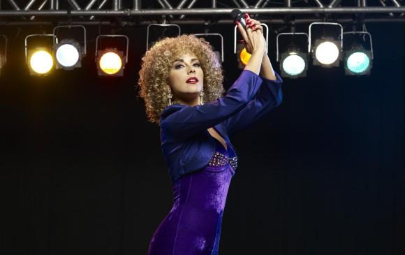 En la producción personifica a Patricia Teherán, la llamada Diosa del valleanto. FOTO Cortesía