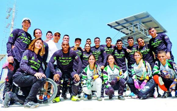 Exitosa presentación de Antioquia en válidas de BMX previo al Panamericano en el que serán locales. FOTO Cortesía jairo garcía