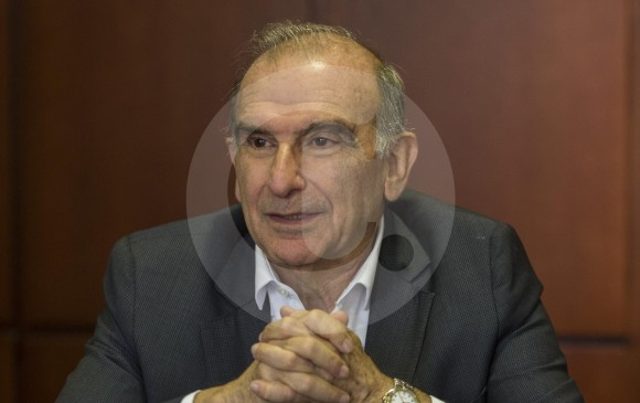 El precandidato presidencial del Partido Liberal, Humberto de la Calle Lombana. FOTO Manuel Saldarriaga