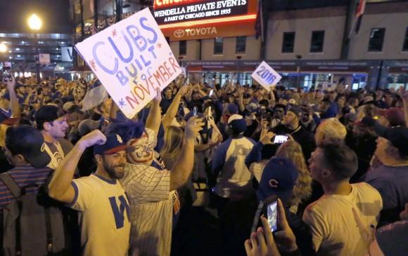Cubs campeones de la Serie Mundial después de 108 años