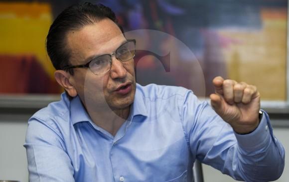El presidente de Bancolombia, Juan Carlos Mora, dijo que la calidad de la cartera está dentro de lo esperado. Foto Julio César Herrera