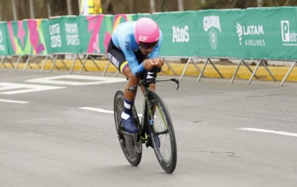 Daniel Martínez gana medalla de oro en la contra reloj individual