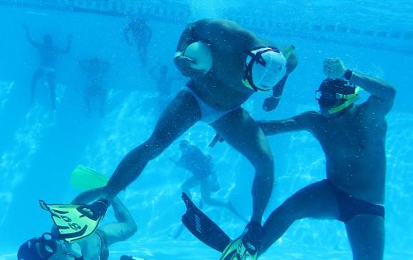 Las selecciones Colombia de rugby subacuático se preparan para el ...