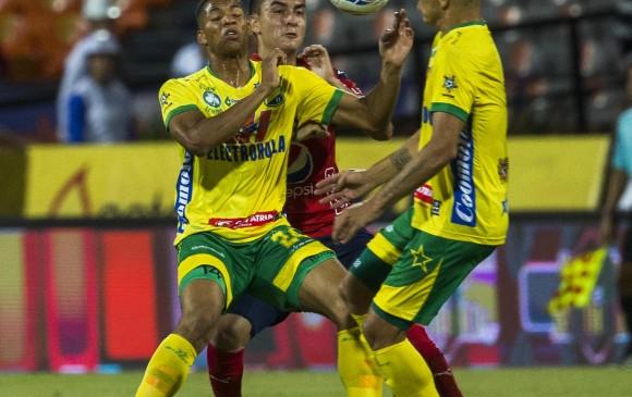 Medellín goleó al Huila en el primer partido de la Liga Águila