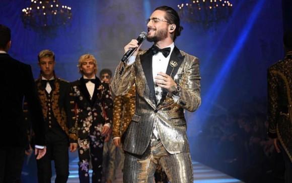 Dolce & Gabbana tuvo un desfile sorpresa y esta vez Maluma ha desfilado