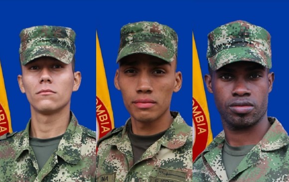 Tres militares murieron por explosión durante labores de erradicación