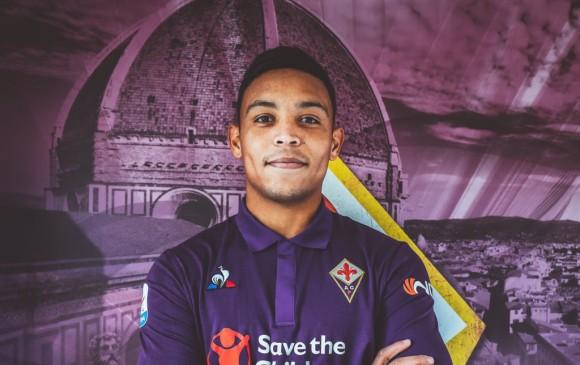Luis Fernando Muriel llegó al fútbol europeo en 2011 cuando Udinese compró su pase al Deportivo Cali. FOTO Cortesía Fiorentina