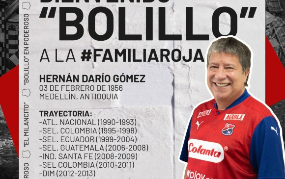 $!Medellín confirma la llegada de Hernán Darío Gómez