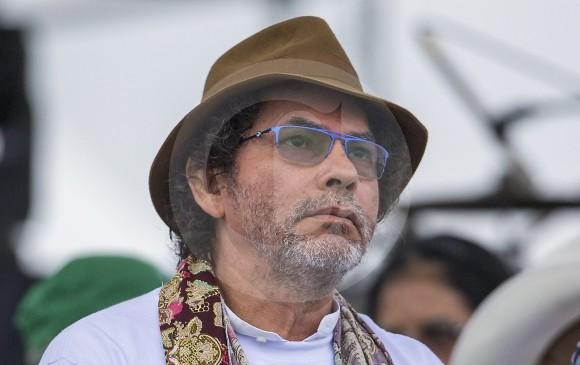 'Pastor Alape' sufre paludismo y recibió atención médica en Medellín