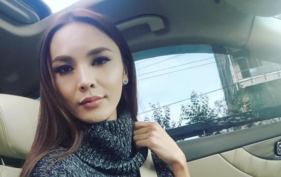 Belguun es una mujer trans, candidata a Miss Mongolia Universe 2018. FOTO: @solongo_qq