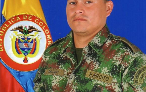 El soldado Jhon Jairo Delgado Bastidas tenía 29 años. FOTO CORTESÍA EJÉRCITO