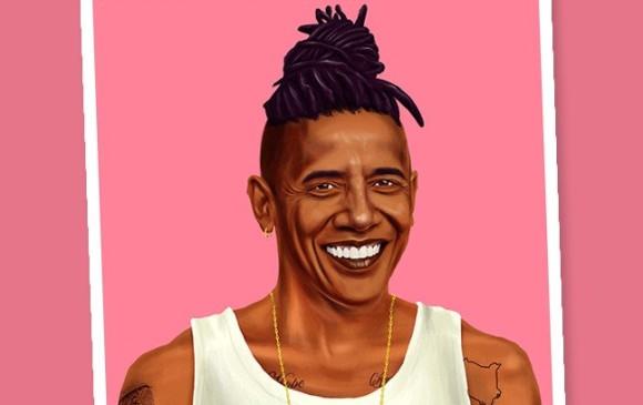 Barack Obama FOTO cortesía Amit Shimoni