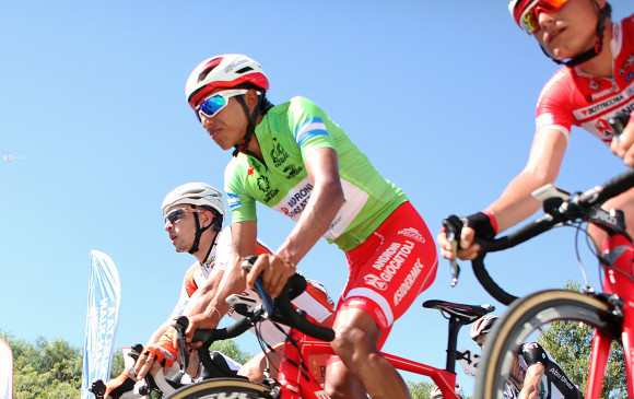 Egan Bernal, líder del Tour de Savoie