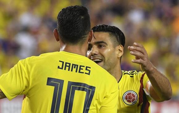 17 de los 32 goles de Falcao en Colombia fueron en amistosos. James acaricia segundo lugar histórico de goleadores. FOTO efe
