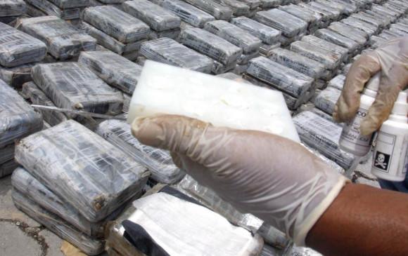 Una tonelada de cocaína colombiana fue incautada en Francia