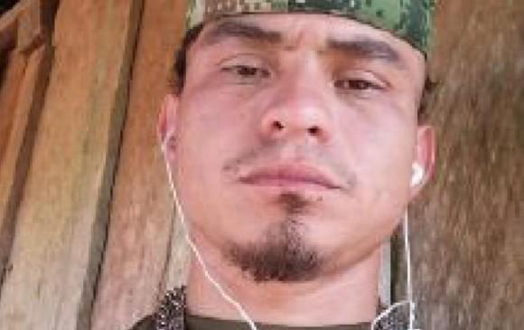 """Gustavo Eliécer Sepúlveda Jaramillo, alias """"Macho viejo"""", murió en un bombardeo este domingo. FOTO: Cortesía"""