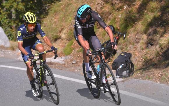 Esteban Chaves es segundo en la general de la Vuelta a España