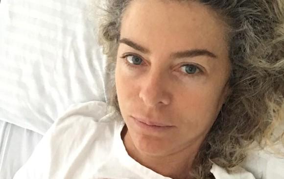 Margarita Rosa estuvo hospitalizada por sobrecarga de ejercicio