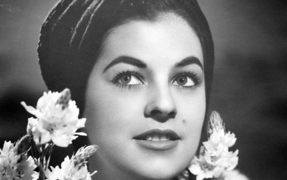 Luz Marina Zuluaga, Miss Universo en 1958. Foto Archivo