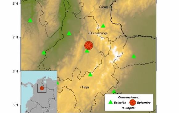 Dos temblores sacudieron este lunes al departamento de Santander — COLOMBIA