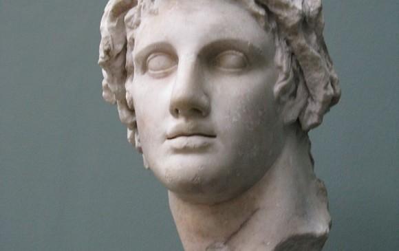 Alejandro Magno, muerto en extrañas circunstancias. Foto Yair Haklai