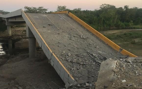 Reparación de puente Simaña tomaría cuatro meses
