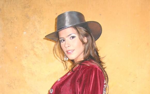 En 2003 interpretó a Rosario Montes en la telenovela Pasión de gavilanes, donde mostró su faceta de cantante. FOTO CORTESÍA