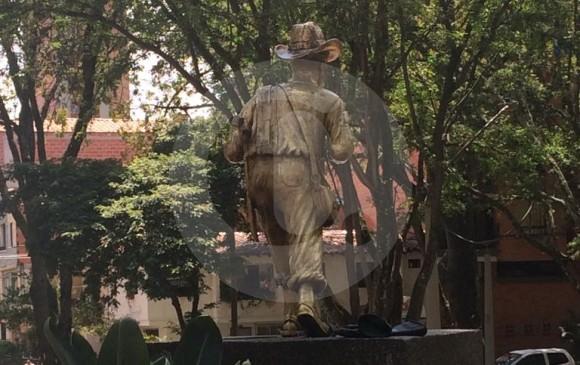 La restauración se está haciendo a la vista del público. FOTO CORTESÍA