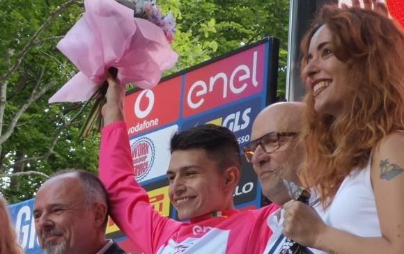 ¡Histórico! Colombia hace el podio completo en el Giro de Italia Sub