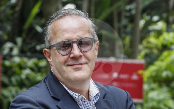 Martínez Lloreda, director de El País de Cali, fue reconocido en Medellín, durante el Festival Gabo, que entregó sus premios la semana pasada. Ya llegó a su sexta edición. FOTO Róbinson Sáenz