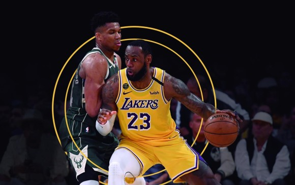 Giannis Antetokounmpo - LeBron James