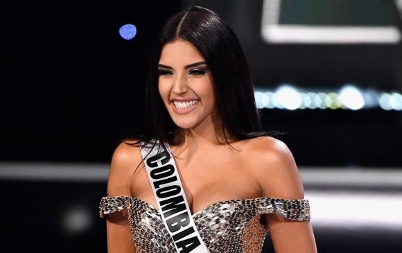 Laura González, de Colombia, en Miss Universo. FOTO AFP