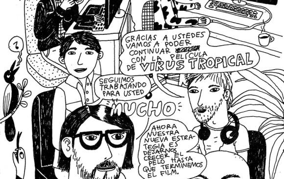 Una de las películas colombianas que estarán en el certamen es Virus tropical, de buena acogida entre el público y la crítica. Foto Cortesía película Virus tropical.