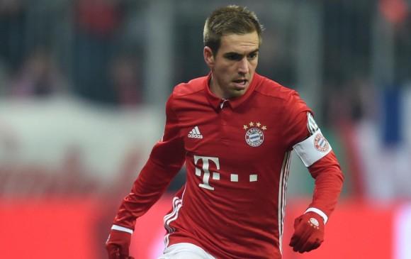 Philipp Lahm se retirará al final de la temporada con Bayern