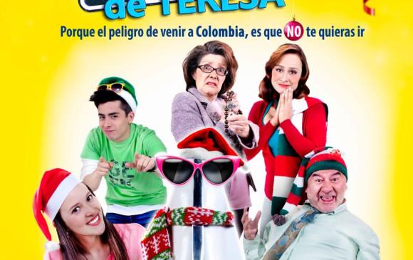 Afiche promocional de la comedia colombiana El paseo de Teresa. FOTO cortesía.