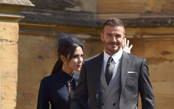 Victoria y David Beckham. Agencia EFE