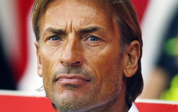Hervé Renard, director técnico de la selección de Marruecos. FOTO EFE
