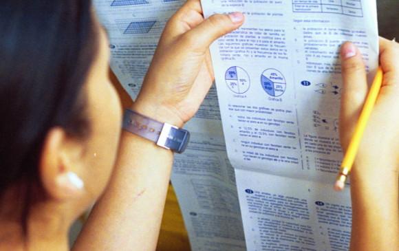 Estudiantes de bachillerato en las pruebas del estado FOTO ARCHIVO EL COLOMBIANO
